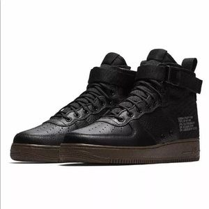 Nike Special Air Force 1 Mid Black Men Shoes
